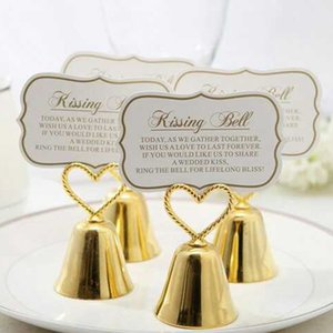 Beautiful Gold and Silver Kissing Bell