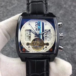 marca di vendita calda 42 millimetri di lusso di orologi Superior uomini di qualità Relogio da polso classici di tutti gli uomini di orologi puntatori lavoro TAG marchio