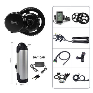 BAFANG 8FUN BBS01 BBS02B 36V 250W Mid Drive Crank Motor Electric Bicycle Conversion Kit EBIKE Middle Engine w  36V 10AH Kettle Battery Pack
