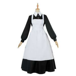 Yakusoku no Neverland Cosplay Costume The Promised Neverland Isabella Cosplay Women Maid Dresses Clothes Uniform Anime Costume Halloween