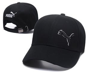 Vendita Cappelli Hot PUMA Solid Caps golf Cap Pieno Chiuso cappelli da uomo e da esterno di estate delle donne Maschio sportive di marca Cap Ossa