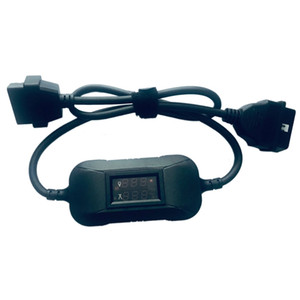 Updated 12V To 24V Heavy Duty Truck Diesel Adapter OBD2 Cable For Launch X431 Easydiag 2.0 3.0 Golo Carcare