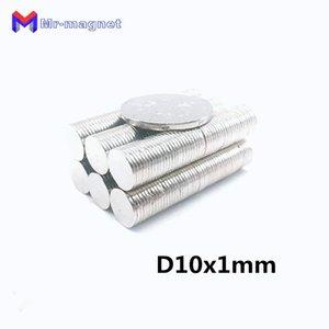 100 adet 10mm x 1mm Süper Güçlü Magnet, D10X1mm Mıknatıslar 10x1 Kalıcı Mıknatıs 10x1mm Nadir Toprak 10 * 1 D10 * 1mm 10 * 1mm Magnet