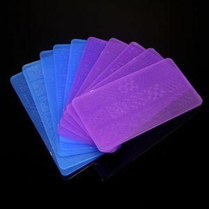 حار بيع 32 قطع 12 * 6 سنتيمتر XY-L سلسلة مسمار ختم لوحات diy صورة البلاستيك مسمار الفن مانيكير قوالب أدوات صالون تجميل البولندية