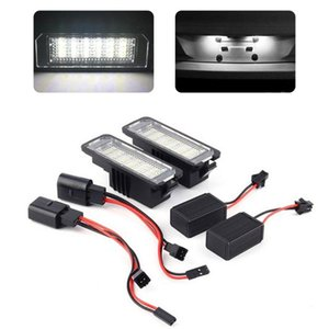 Dhl 18 Free LED 3528 SMD Number License Late Light Light Lapts for Car License Late Lights Exterior Supers