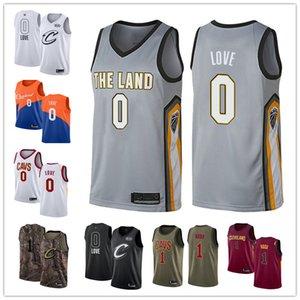 Hombres Mujeres Cleveland personalizadaCavaliers0 KevinAmor 1 Rodney capucha blanca de la vuelta de Baloncesto EdiciónNBAJersey