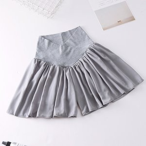 2019 Hot Women Maternity Calf-Length Pants Pregnancy Casual Low Waist Pants skirt