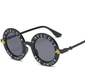 occhiali da sole del nuovo progettista di lusso delle donne di alta qualità degli occhiali da sole donne Occhiali da sole rotondi occhiali da sol mujer lunette