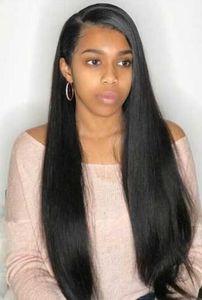 2021 Verkauf von Lace Front Human Hair Perücken frei Teil Brasilianer direkt mit Baby für schwarze Frauen