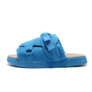 Brand Designer Moda Pantofole Scarpe Uomo Scarpe casual Pantofole Sandali da spiaggia Pantofole da interno Donne da strada hip-hop Sandali firmati Visvim