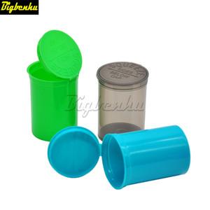 30 Dram Squeeze vacío Pop Top Bottle-Vial hierba caja de acrílico plástico Stroage Stash Botella frasco de píldoras caso de caja de la hierba del envase de plástico Estaño