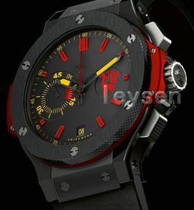 2019 Mens Rojo Nuevo 2813 movimiento automático reloj Auto-viento hombres relojes mecánicos de pulsera Moda Deportes SS