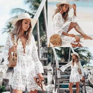 Vestidos ocasionales Mujeres Bikini partido de las mujeres sin mangas de la tarde de verano nueva manera atractiva del vestido de la playa de la gasa del cortocircuito del mini vestido de ropa para mujer