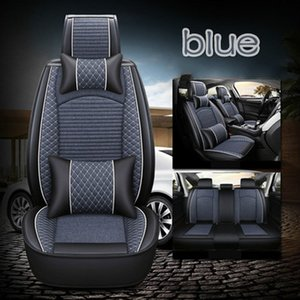 High Quality Universal Fit Car Accessories Seat Covers For Sedan Full Surrounded Design full set flax type car seat cover