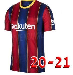 2019 20 21 Barcelona Messi Griezmann Mens Futebol 18 SUAREZ PIQUE COUTINHO DEMBELE camisas do futebol Rakitic F. De Jong kits homens + crianças