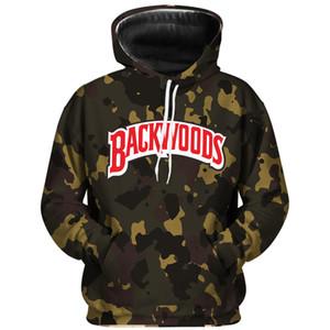E-Baihui BACKWOODS Camouflage Hoodie Street Männer und Frauen Sweatshirts Mode Letters Harajuku Persönlichkeit Pullover