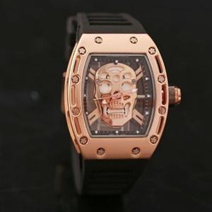 2019 Top dos homens de luxo relógio dos homens da moda relógio designer de quartzo popular relógio esportivo de silicone relógios de Pulso reloj muje