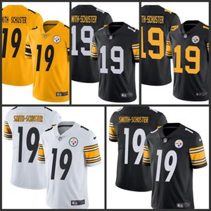 PittsburghSteelersМужчины # 19 JuJu Смит-Шустер Black для мужчин Женщины Молодежь прошитойNFL Limited Rush Джерси