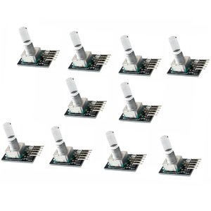 10 Piece Rotary Encoder Brick Sensor Development Board For Arduino KY-040