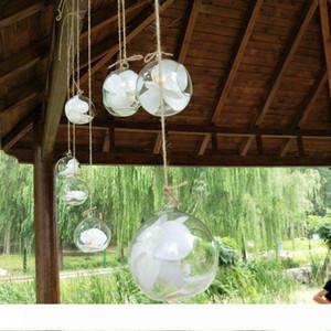 Hava Tesisi teraryumun Asma 10 cm Yaratıcı Asma Cam Vazo Sulu Hava Tesisi Ekran Terrarium, Dekoratif Net Cam