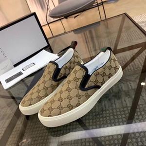 Gucci men shoes 2020cci últimas laços pretos são tênis confortável e bonito ocasional dos homens de couro durável estável moda boa