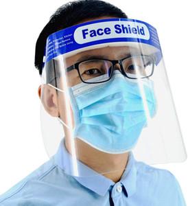 Proteção dos olhos de segurança Tampa Facial Protective Glasses ajustável à prova de poeira Full Face Visor Escudo respirável Proteção Anti Drool respingo