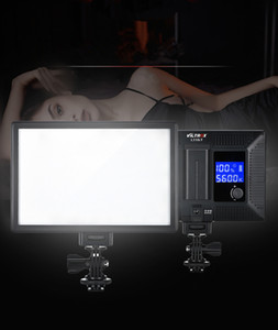 Venta al por mayor LED L116T Luz de vídeo LCD ultra delgado panel bicolor regulable DSLR Estudio de luz LED de la lámpara para la cámara de la videocámara DV