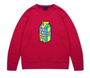Designer O-Ansatz Kleidung Lässige Rap Singer Pullover-lose Druck Sweatshirt Mens Juice Welt Hoodies Frühling Herbst Teenager