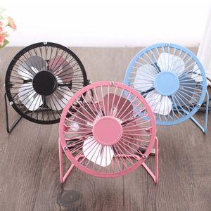 4 Renkler Portatif 4 İnç Usb Fanlar Alüminyum Küçük Danışma USB 4 Bıçaklı Soğutucu Fan Evrensel Ev Ofis Araç Taşınabilir Mini Fan DH1401 T03 Soğutma