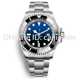 2020 Hommes automatique de haute qualité Montre bracelet bleu inoxydable Mens mécanique Montre-bracelet étanche 5ATM super montres lumineuses pour les hommes