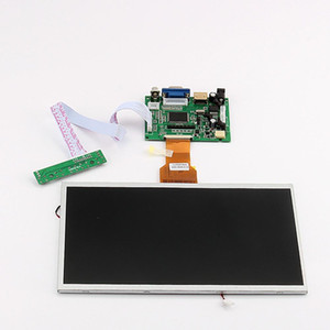 Freeshipping 10 inch Raspberry pi Display LCD TFT Shield Display Module HDMI+VGA+Video Driver Board for Raspberry Pi