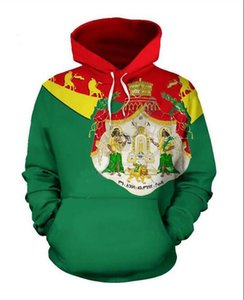 New Fashion Women Mens Harajuku Style Ethiopia flag Casual 3d Printed Crewneck Sweatshirts Hoodies Unisex Sportwear Coat XZ0338