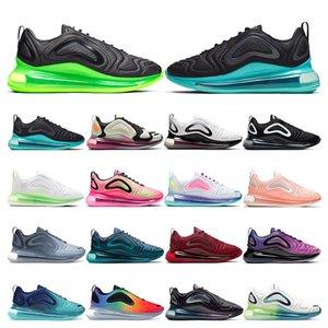 nike air max 720 pour hommes Be True University Rouge MULTICOLOR triple blanc noir femmes formateur sport respirant sneaker taille 36-45
