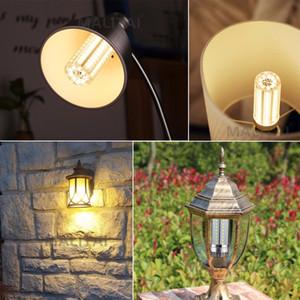 울트라 음소거 LED 램프 높은 전원 E27 옥수수 빛 220V 촛불 전구 MS004 냉각 없음 플리커 빛 AC LED 전구 알루미늄 팬