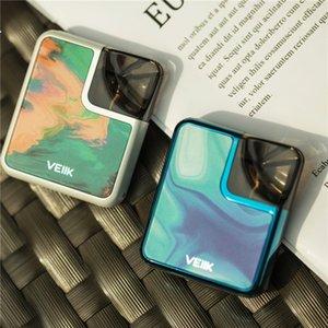 Kullanışlı Lanyard Birlikte Aç Pod Sistemi E Sigara VEIIK Cracker Pod Kiti Hava Tahrikli Anahtarı Kompakt Vape Kiti