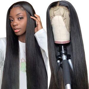 Silk Top Human Hair Wigs Lace Front Human Hair Wigs Peruvian Striahgt Silk Base Lace Front Wig For Women Dorisy
