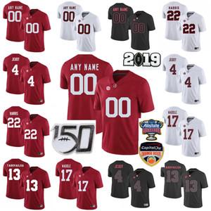 Personalizzato Alabama Crimson Tide College Football maglie Bambini Gioventù Tua Tagovailoa Jersey Jerry Jeudy Jaylen Waddle Najee Harris cucita