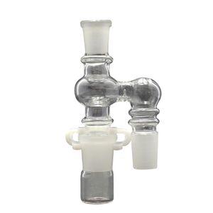 14 мм выпадающий Reclaimer Kit стекло масло Reclaimer Kit 90 градусов совместное мужчин и женщин совместное для стекла Бонг