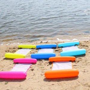 Летом вода Гамак плавательный бассейн Надувные игрушки Mat Плоты Плавающий матрасах Lounge Надувные Floating Bed Председатель LJJK2146