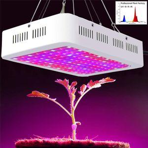 Tam Spektrum 1000 W 1200 W 1500 W 2000 W LED Büyümek Işık AC85-265V Çift Çip Led Bitki Lambaları Büyüyen ve Çiçeklenme Için En Iyi Kapalı Büyümek Çadır