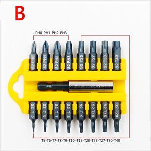 17 шт безопасности предохранительную Multi-Bit Set Магнитный держатель отверток бит Инструменты