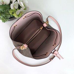 New women's one shoulder handbag bucket bag multi color