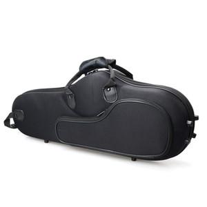 Custodia rigida per sassofono alto di alta qualità 1 pezzo in sassofono di alta qualità per il trasporto di fiati nero