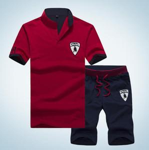 Conjuntos Hommes Nouvelle Mode Sportive D'été Disfraz Camisetas + Pantalons De Survêtement Vêtements Pour Hommes Conjuntos de 2 piezas Slim Surv
