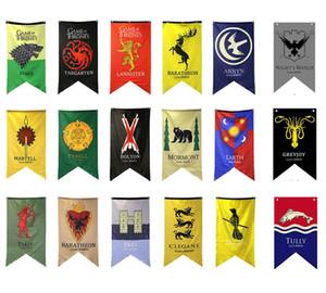 18styles 18 Styles 70 * 125cm Game of Thrones Flags Gartendekoration Flagge DIY Yard Dekorative Hängen Home Banner Fahnen Partei Requisiten FFA1969
