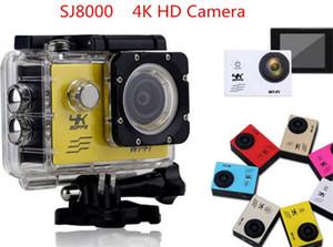 SJ8000 HD 4K Sports Camera 2.0 LCD 30m Waterproof WIFI Action Camera HD outdoor sports camera
