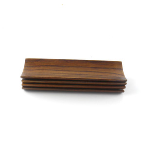 Bolinhos de madeira Sushi Servindo Bandeja Talheres Prato Oblongo Toalha De Papel Titular Cozinha Restaurante Home Supplies 5bt F1