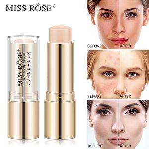 Miss Rose Face Makeup Foundation Полное покрытие контура Ремонт Корректор крем Base Грунтовка Увлажняющий Скрыть Пятна Стик