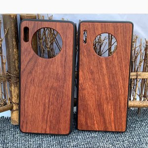 Wood Mobile Phone Case Blank Case For One Plus 6 DIY Laser Carving Wood+TPU Case For Mate 30 P30 PRO Custom Your Design