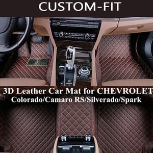 Wholesale Custom Car Floor Mats for Chevrolet Colorado Camaro RS Silverado Spark All Model Carpet Esteiras Do Assoalho Do Carro